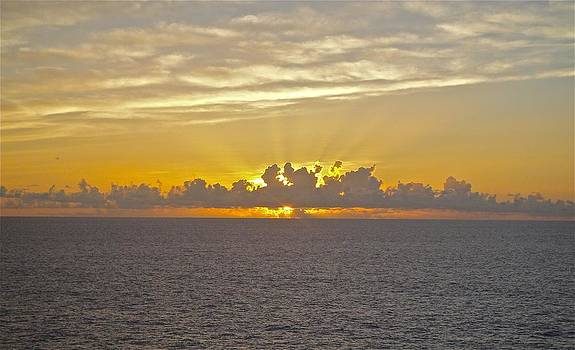 Jennifer Lamanca Kaufman - Sunrise from the ship