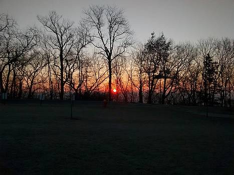 sunrise in Atchison by Dustin Soph