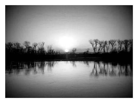 sunrise in B/W by Dustin Soph