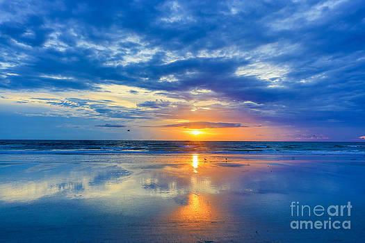 Sunrise in Daytona by Mina Isaac