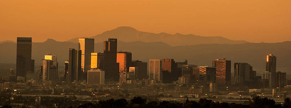 Sunrise in Denver by Colleen Coccia