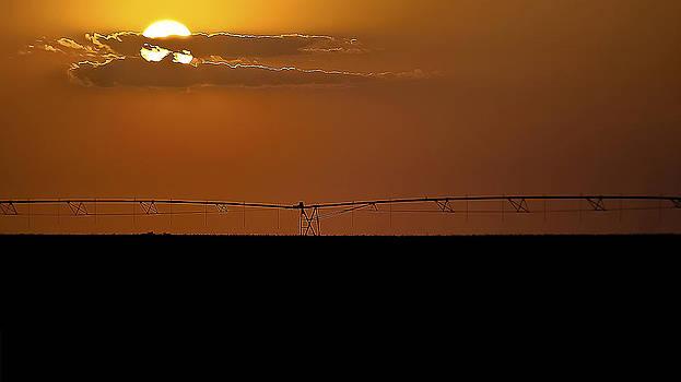 Sunrise in Kansas by Garett Gabriel