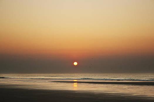 Sunrise in Ogunquit beach. by Elisabete Companion