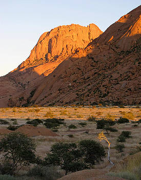 Sunrise in Spitzkoppe by Karen E Phillips