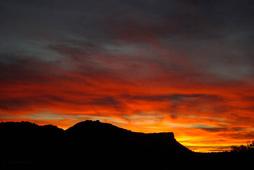 Sunrise in the Canyon by Justyne Moore