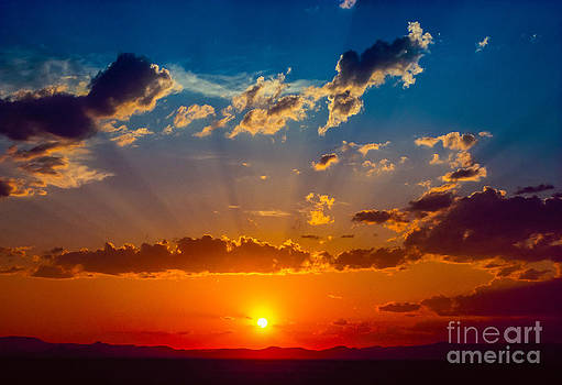 Sunrise in the Deserts of New Mexico by Tony Gliatta