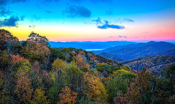 Sunrise in the Smokies by Dennis Sabo