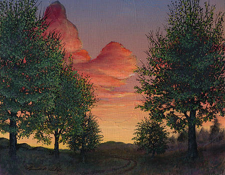 Sunrise In The Valley by Kenneth Stockton