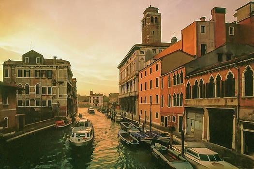 Cliff Wassmann - Sunrise in Venice