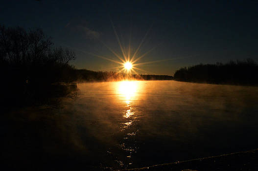Sunrise in West Carthage by Timothy Thornton