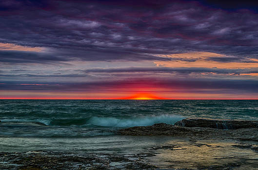 Sunrise July 21st by Todd Heckert
