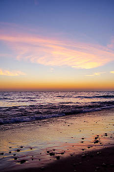 Sunrise Lake Michigan September 28th 2013 004 by Michael  Bennett