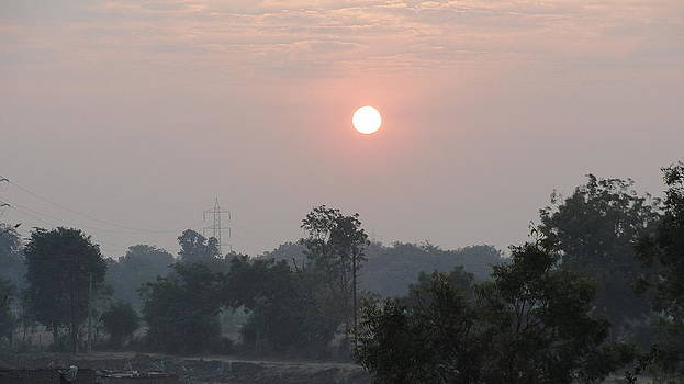 Sunrise by Makarand Kapare