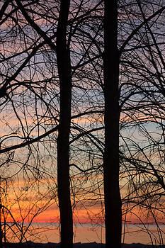 Sunrise of Lake Huron by Rhonda Humphreys