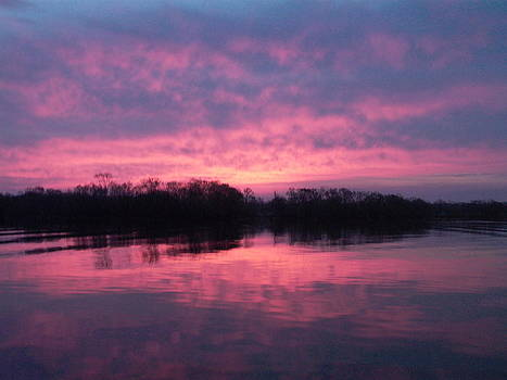 Sunrise on Lake Fork by Charlotte Craig