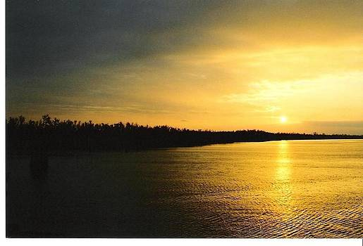 Sunrise On Ole Man River by Michael Hoard