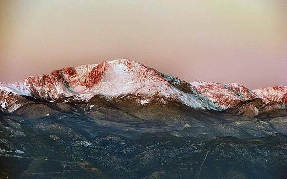 Sunrise on Pikes Peak by Dana Carroll