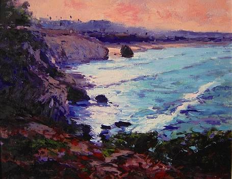 Sunrise on Pismo Beach IV by R W Goetting