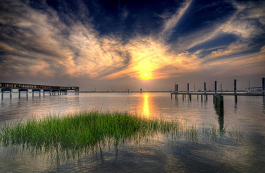 Sunrise on the Bay by Seaside Artistry