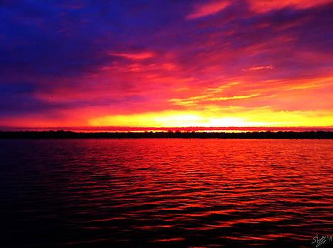 Shere Crossman - Sunrise on the Bay