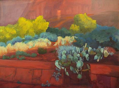 Sunrise on the Bell Rock Trail by SharonJoy Mason