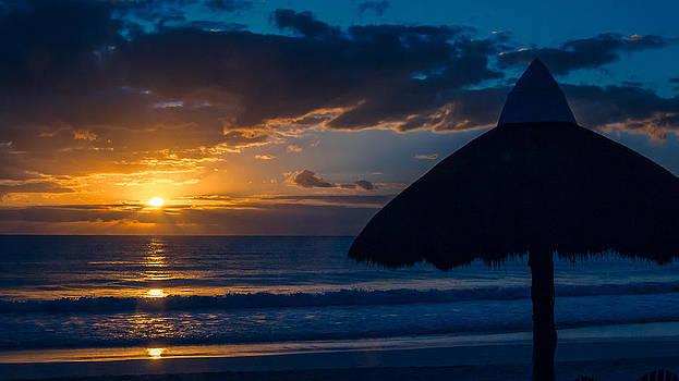 Sunrise on the Caribbean Sea by Scott Presnell