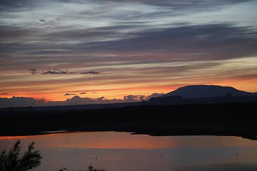 Sunrise on the Lake by Gladys Turner Scheytt