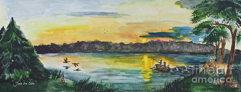 Sunrise on the Lake by Janis Lee Colon
