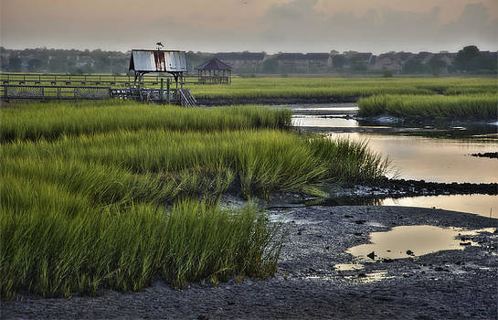 Sunrise on the Litchfield Marsh by Ginny Horton