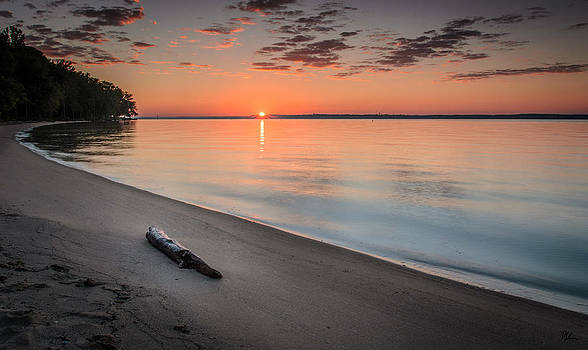 Sunrise on the Potomac by Pat Scanlon