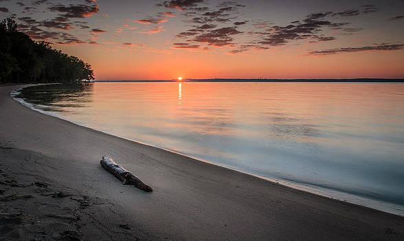 Sunrise on the Potomac by Pat Scanlon