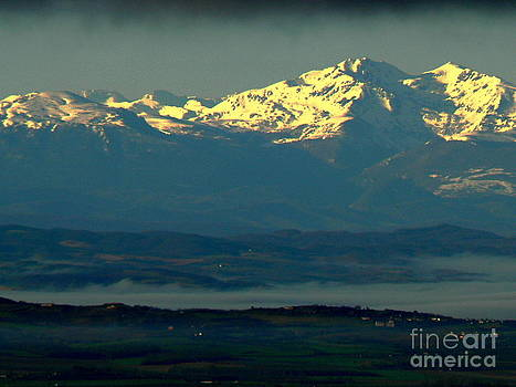 Sunrise on the Pyrenees by France  Art