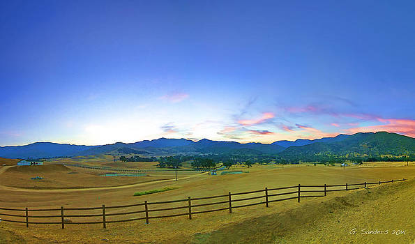 Sunrise On The Ranch by Ginger Sanders