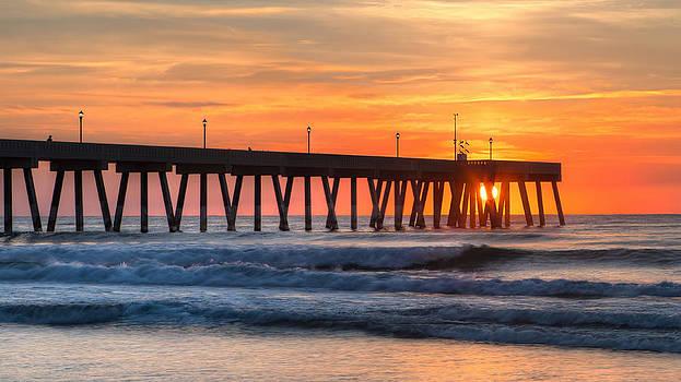 Sunrise on Wrightsville Beach NC by Craig Bowman