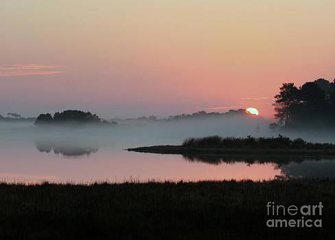 Sunrise over Assateague VA by Bren Thompson