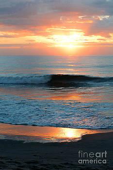 DJ Laughlin - Sunrise Over Atlantic Ocean South Carolina Sunrise