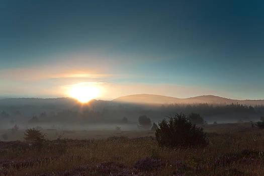 Sunrise Over Brezovac by Miroslav  Turkalj
