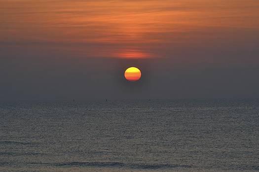 Sunrise over Cape Canaveral by Lorelei Galardi
