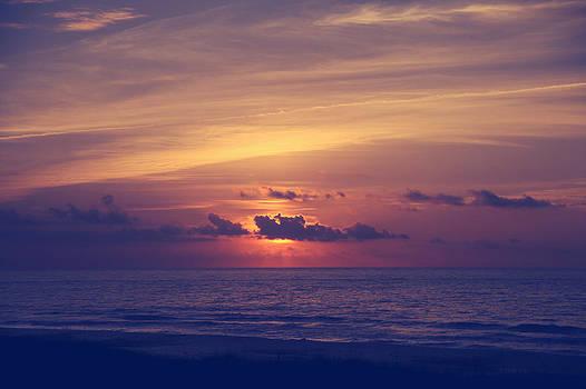 Sunrise over Carolina Beach by Lori Peterson