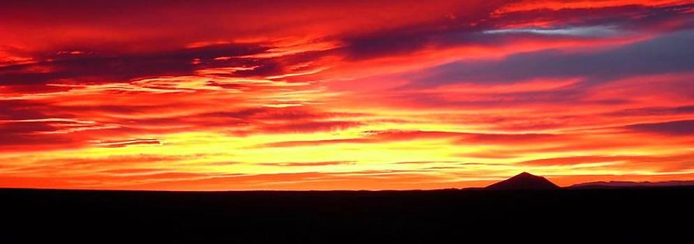 Sunrise over Iron Mountain by Karen Nitz