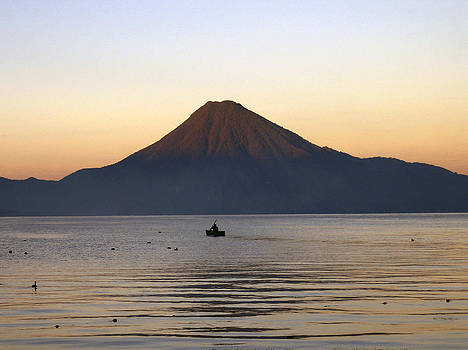 Kurt Van Wagner - Sunrise over Lake Atitlan