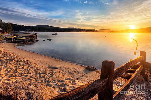 Jo Ann Snover - Sunrise over Merrymeeting Lake