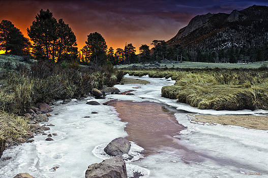 Sunrise Over Sheep Lakes by Tom Wilbert