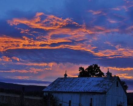 Sunrise over Smithsburg by William Fox