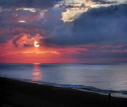 Sunrise over the Atlantic by Mikki Cucuzzo