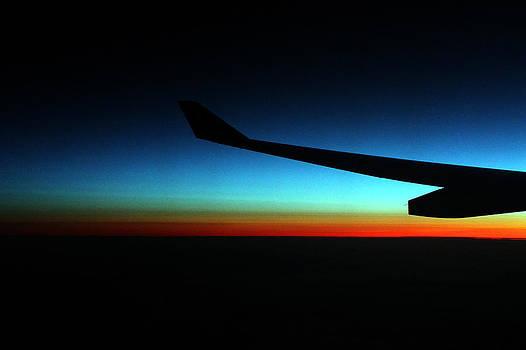 Sunrise over the Atlantic Ocean by Cedric Darrigrand