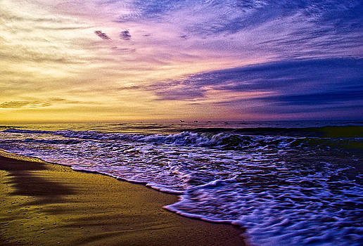 Sunrise over the Gulf of Mexico by Patrick Collins