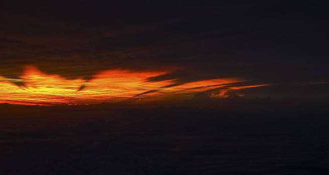 Sunrise over the North Carolina Coast by Greg Reed