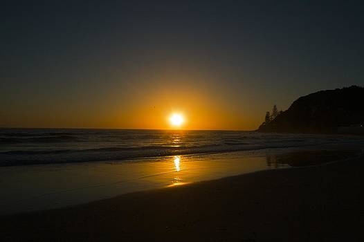 Sunrise Over Water by Shane Dickeson