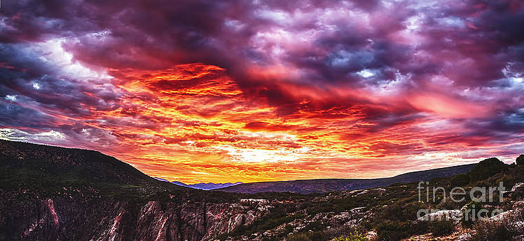Sunrise Panorama by Scotts Scapes